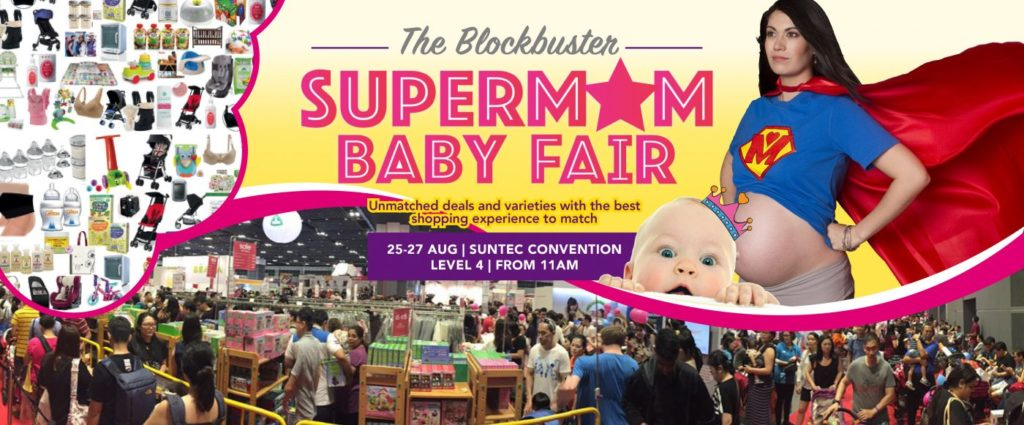 Participating in August Super Mom Baby Fair